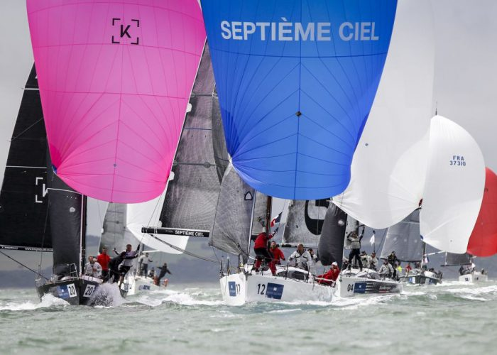 The 2018 IRC European Championship will be held for the first time in Cowes, UK this summer © Paul Wyeth/pwpictures.com