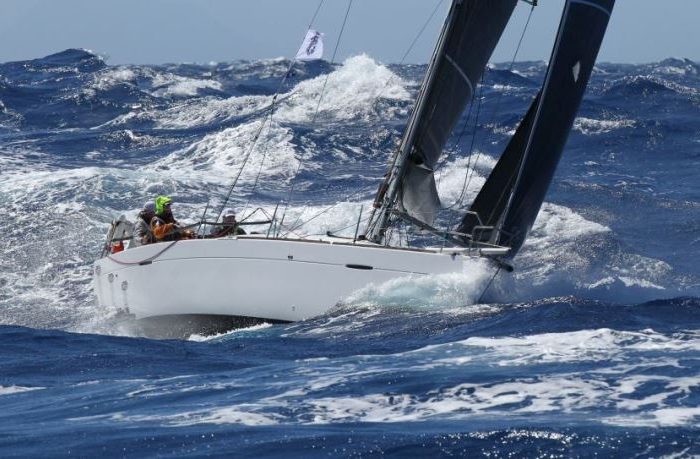 Rough conditions in the 2018 RORC Caribbean 600