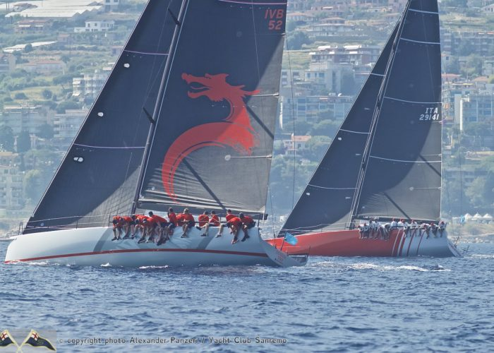 Champagne sailing in Sanremo